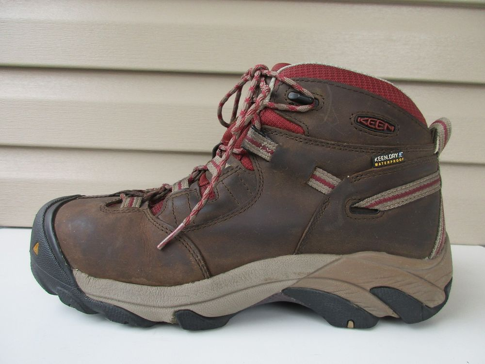 c46d3f2e2f95 Keen Dry Women s Waterproof Steel Toe Boots brown Size 10  KEEN  WorkSafety   WeartoWork