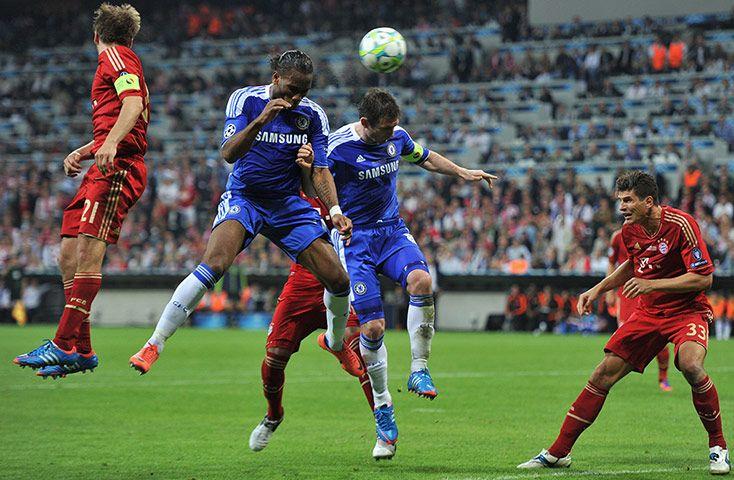 Didier Drogba Goal vs Bayern Champions League 2012 Mit    Didier Drogba Goal vs Bayern Champions League 2012   title=          My