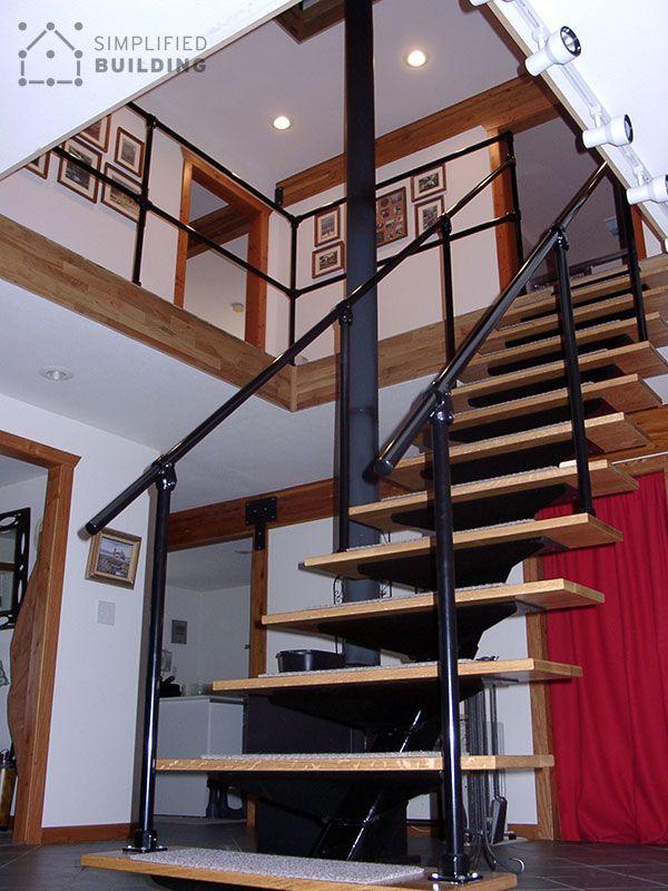 Best Industrial Style Railing Loft Living Loft Railing 400 x 300