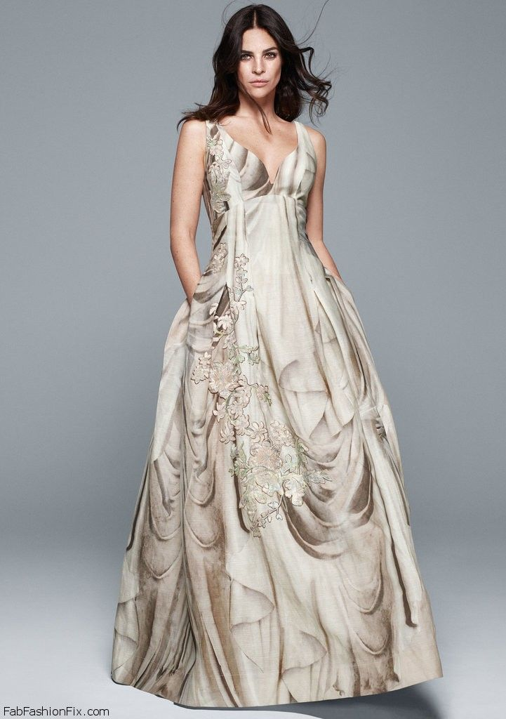 bddb0c24b0d6da6 Julia Restoin Roitfeld stars as the face of H&M Bridal collection. #bridal # hm