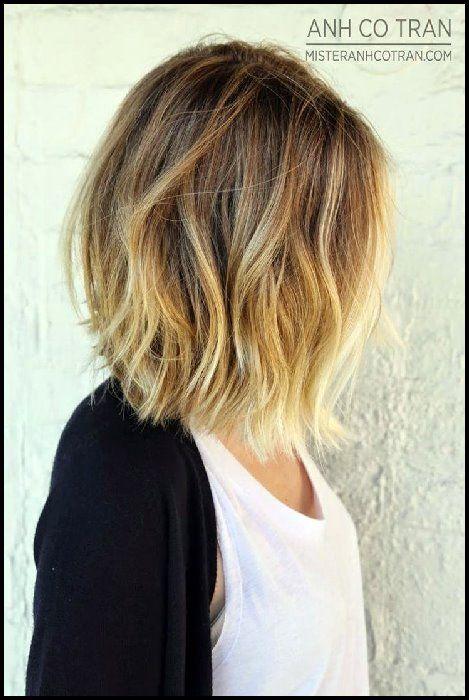 Frisuren fur schulterlanges dickes haar