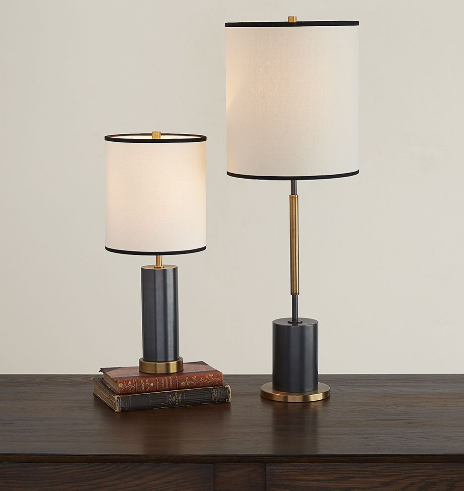 Cylinder Accent Table Lamp Tall Table Lamps Lamp Tall Table