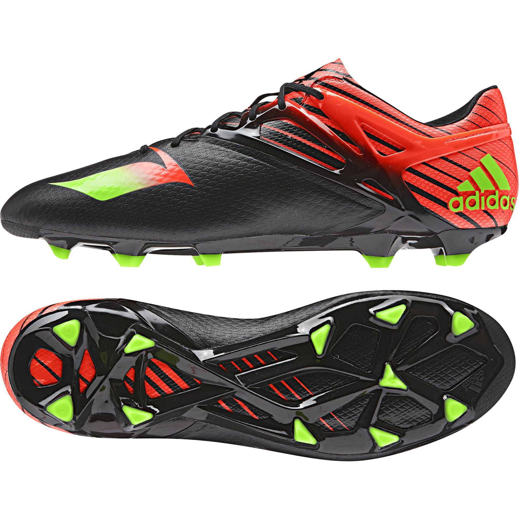official photos ad623 bfb22 Adidas Messi 15.1 Firm Ground Football Boots - Black - Available at  Kitbag.com.