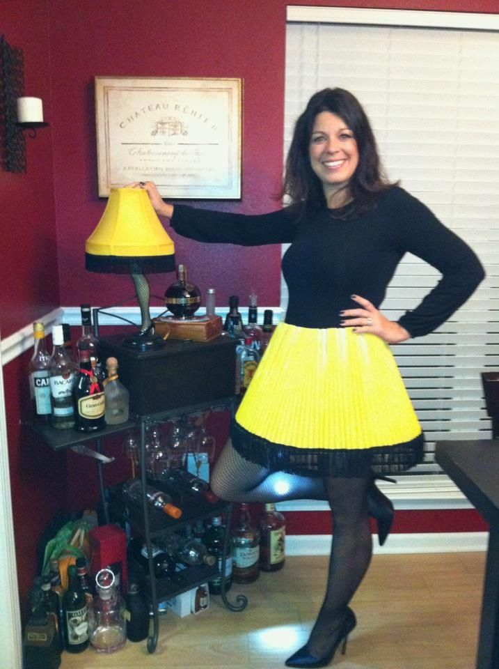 Leg Lamps From A Christmas Story.Easy Christmas Story Leg Lamp Costume Halloween Muah