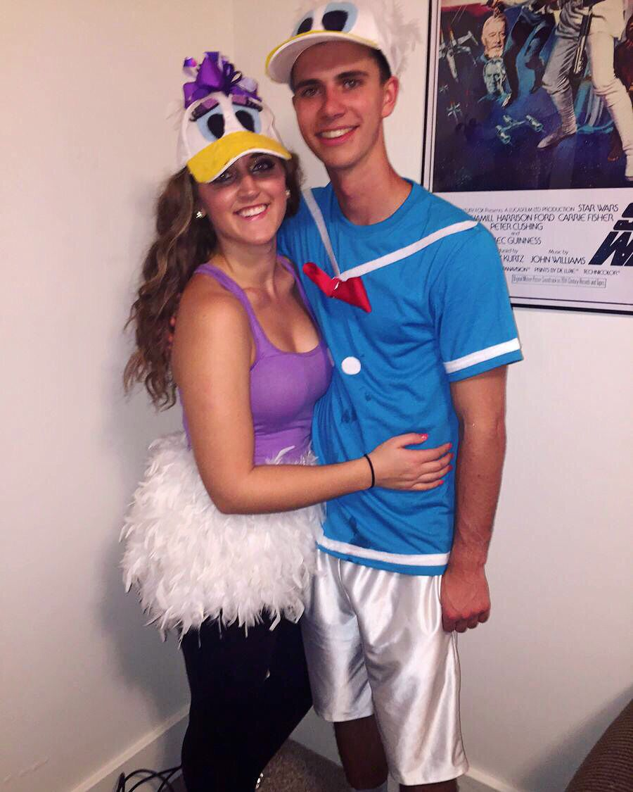 06d7e36c48a Donald and Daisy Duck Halloween costumes