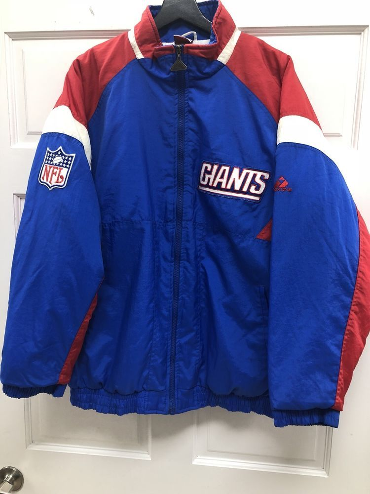 brand new 7595c c432c Details about Apex One 80s 90s Vintage New York Giants NFL ...