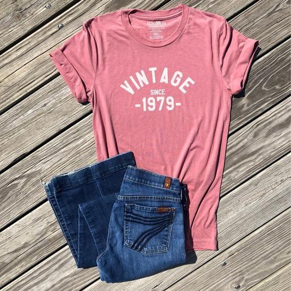 16a90e03a1844 vintage 1979 shirt, 40th birthday shirt, 40th birthday gift for ...