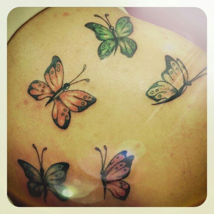Butterfly # tattoo | Tattoos, Butterfly, Flowers
