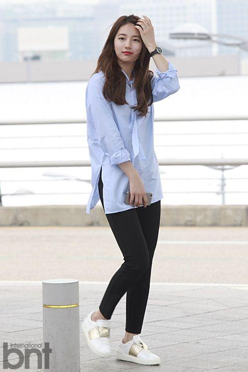 Suzy Style 2015 Recherche Google Fashion Pinterest Korean Celebrities Airport Fashion