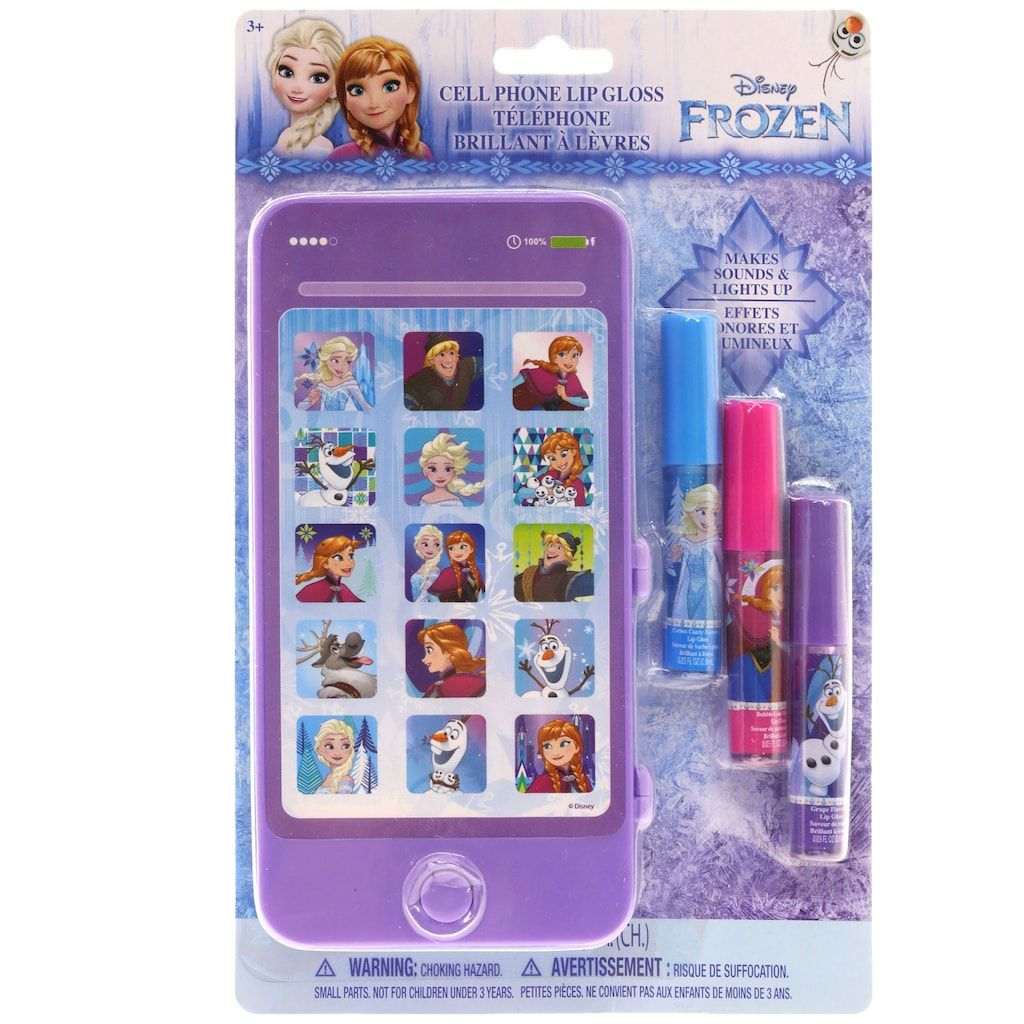 8653c428832b Disney's Frozen Girls Toy Cell Phone & Lip Balm Set | Products ...