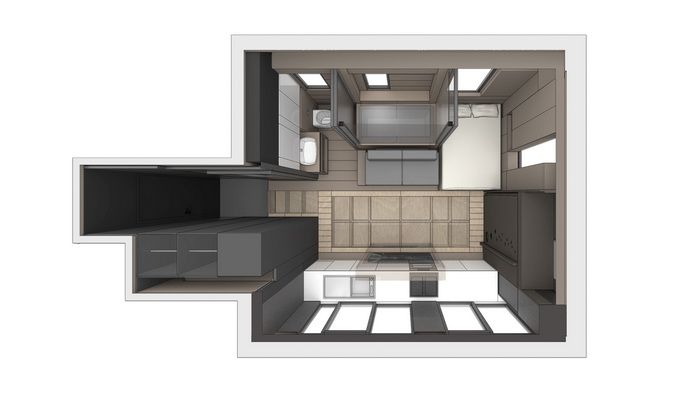 I Can\'t Believe All the Features Mashed Into This Micro-Apartment ...