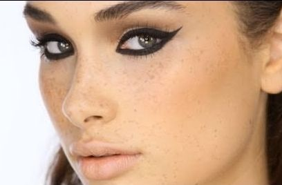 Image result for really bad winged eyeliner