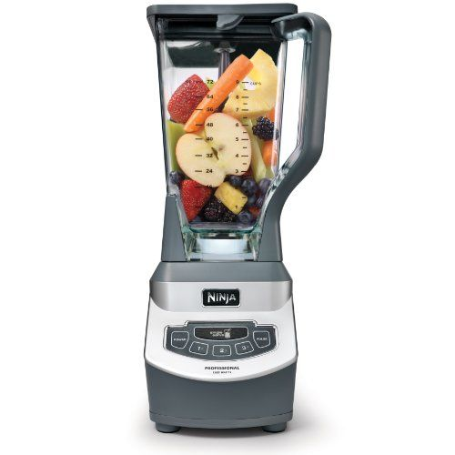Ninja Professional Countertop Blender With 1100 Watt Base 72oz