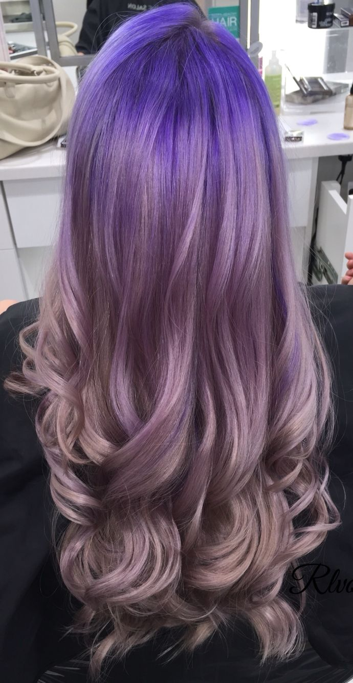 Purple Lavender Ombre By Rachael O Ulta Salon Creative Color Hair