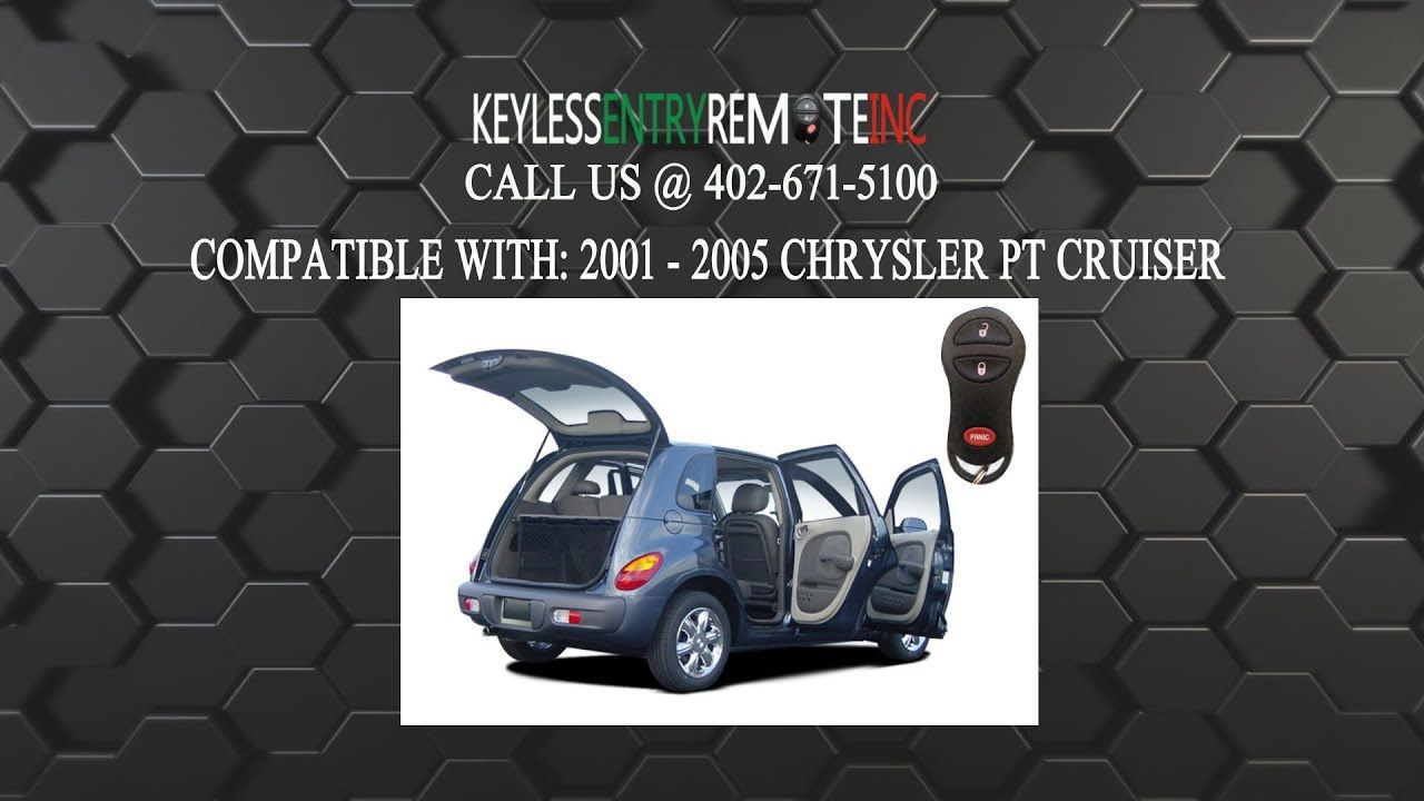 How To Change A Chrysler Pt Cruiser Key Fob Battery 2001 2005