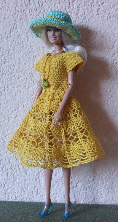 Pin von Monica Martinez auf Crochet   Pinterest   Barbie ...