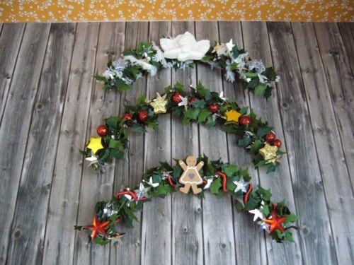 Details zu girlande t rbogen weihnachten 1 12 miniatur f r - Weihnachtsgirlande basteln ...