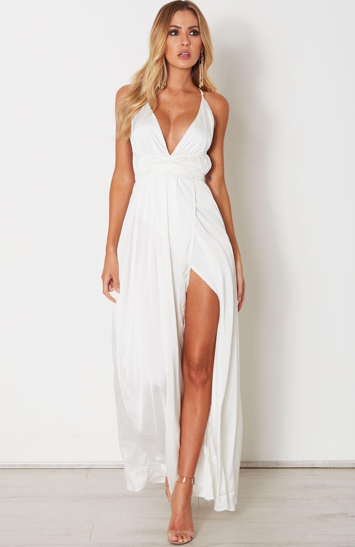 967efb1769f Akela Maxi Dress White