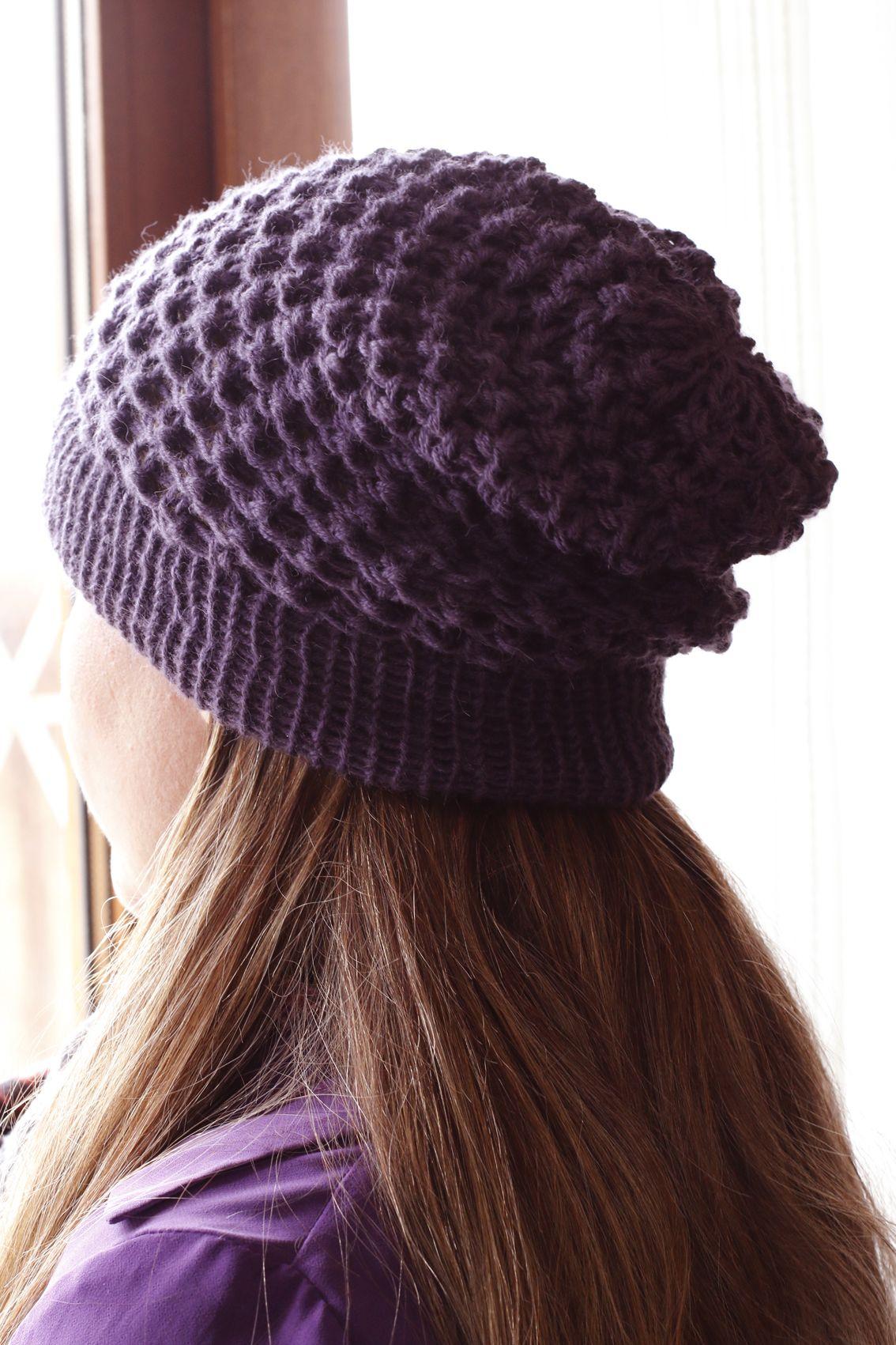 Pin de Ani Bazan en Crochet gorros adultos  3e1f64c357d