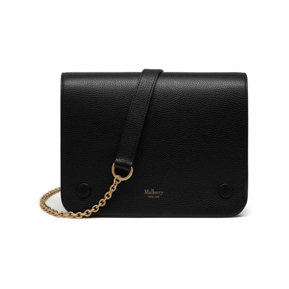 a22da4f941b Mulberry - Clifton in Black Small Classic Grain   Baga   Bags ...