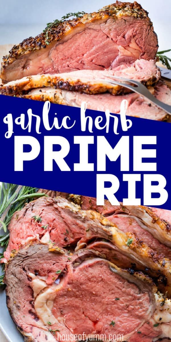 Photo of Garlic Herb Prime Rib