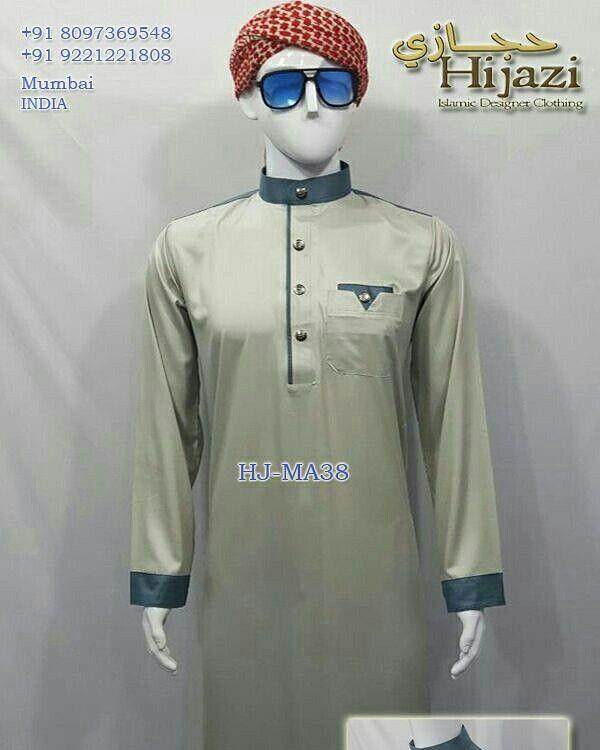 Hijazi Thobe Islamic Designer Clothing Manufacturer Wholesaler Mumbai India 09 918097369458 South African Fashion White Kurta Clothing Manufacturer