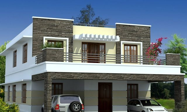 Image Result For Bricks Houses In The Philippines House Balcony Design House Design Pictures Kerala House Design