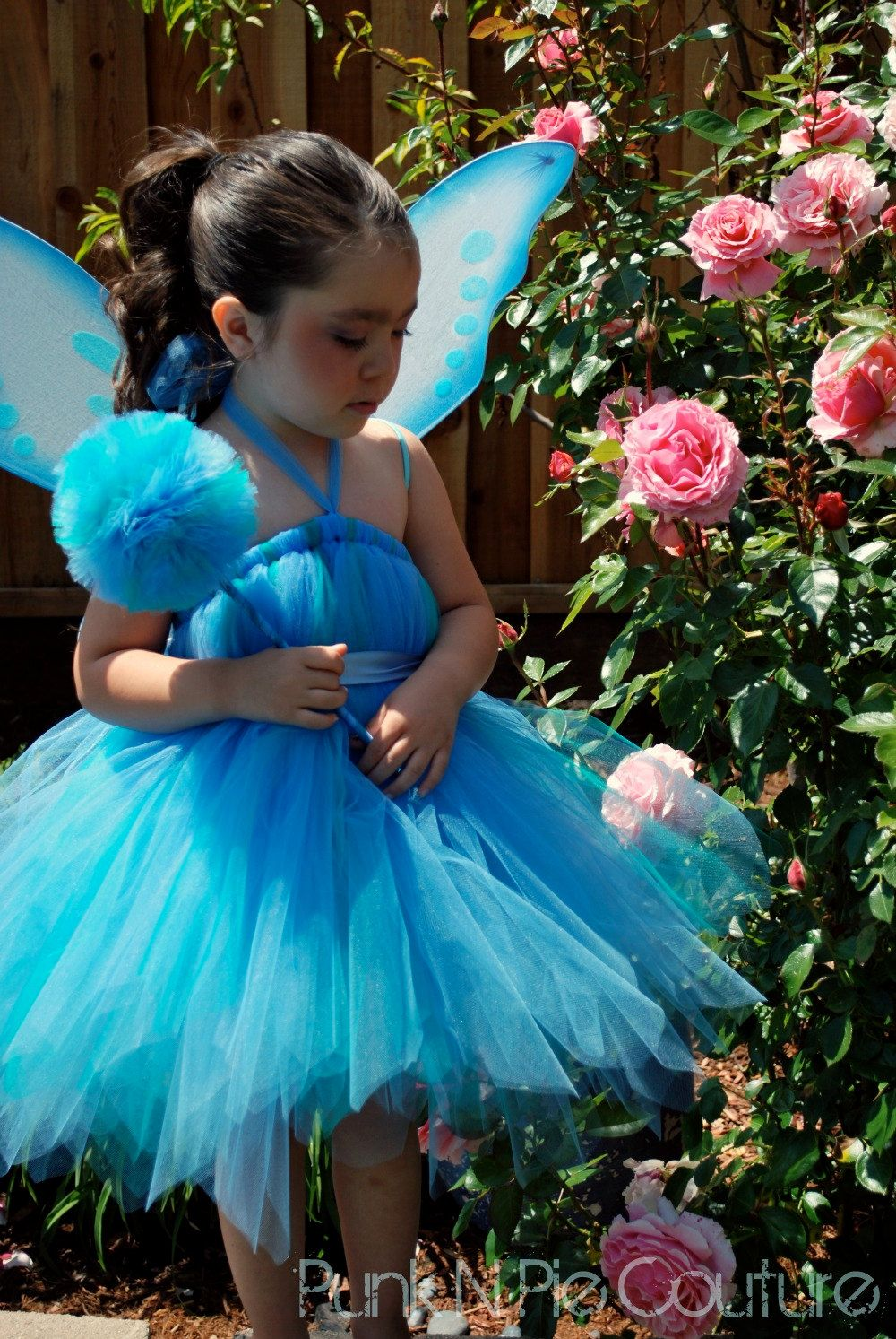 Blue Pixie Fairy Tutu Dress Birthday Dress up Set Infant - 5t  sc 1 st  Pinterest & Blue Pixie Fairy Tutu Dress Birthday Dress up Set Infant - 5t ...