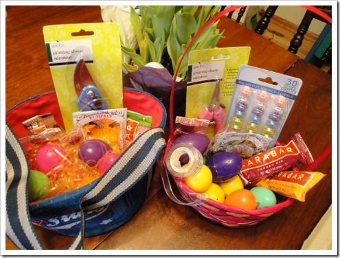 Healthy easter basket ideas without candy no junk either ideas for healthy junk free easter baskets without sugar or dollar store toys negle Gallery