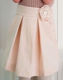Tutorial Beautiful Box Pleat Skirt For Little Girls Girls Skirt Patterns Skirts For Kids Toddler School Outfits