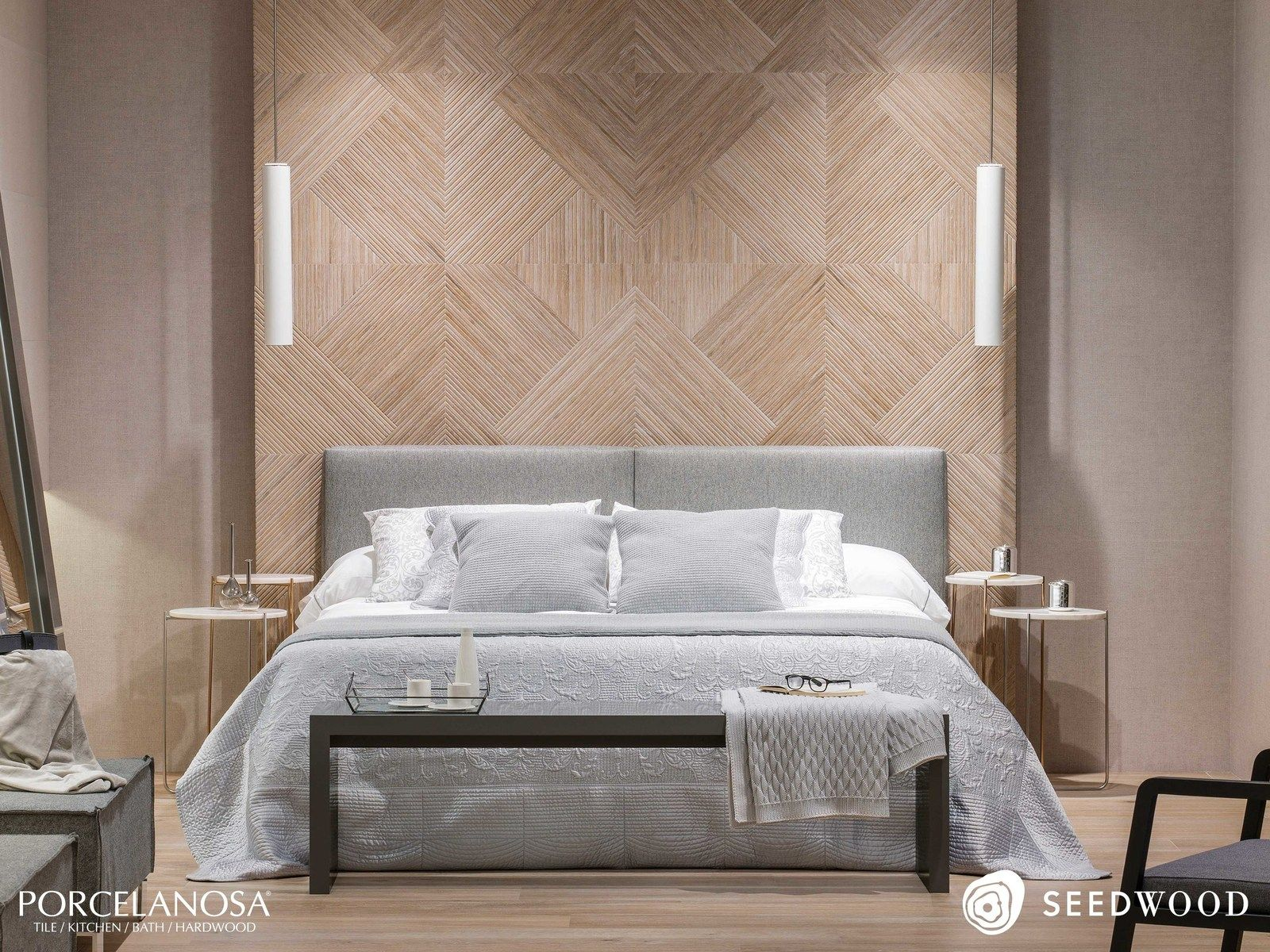 Image Result For Porcelanosa Minnesota Wood Effect Tiles Tile Bedroom Textured Wall Panels