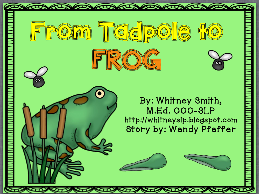 Let S Talk From Tadpole To Frog A Book Companion