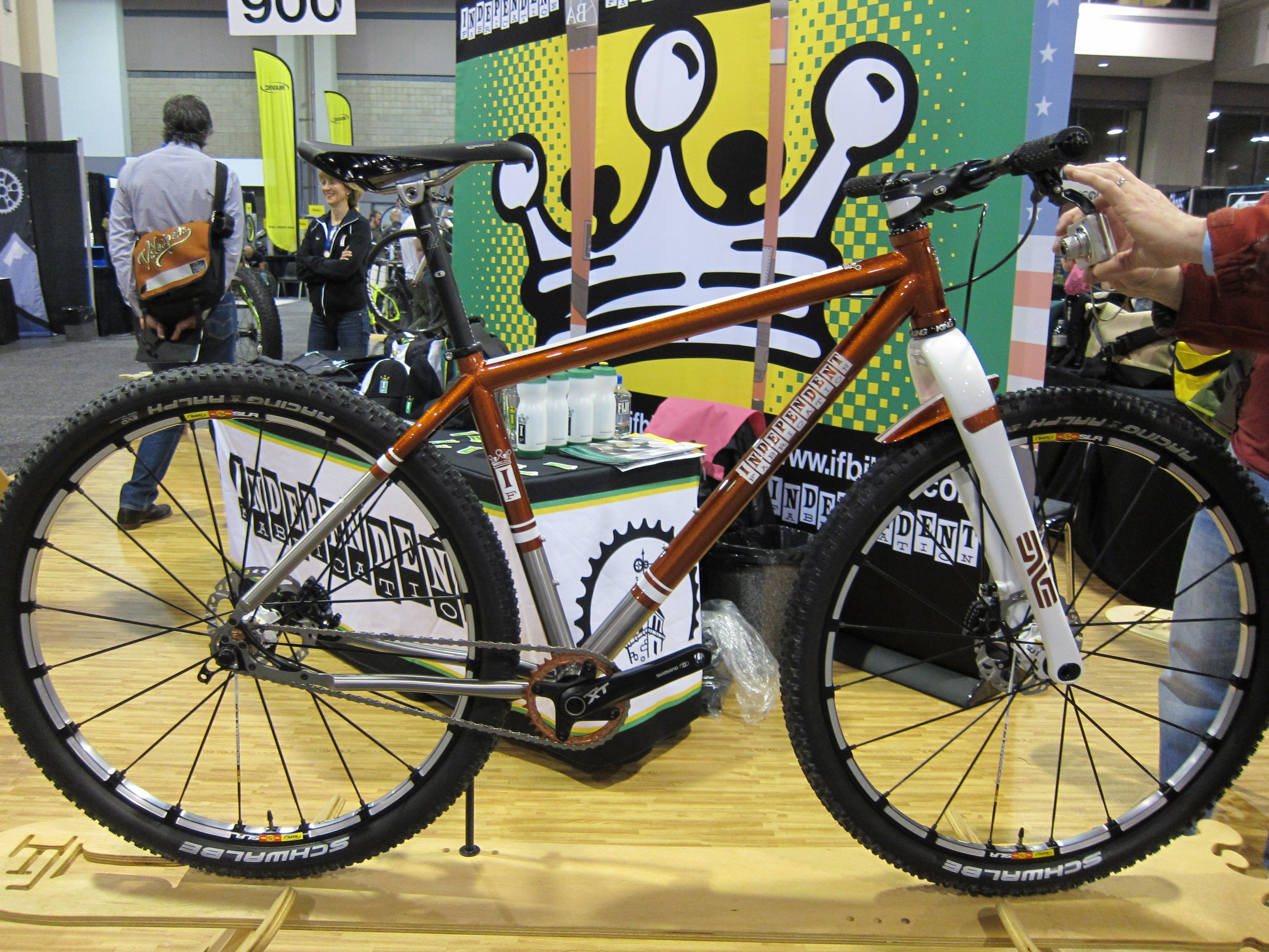 Nahbs North American Handmade Bicycle Show Attendee