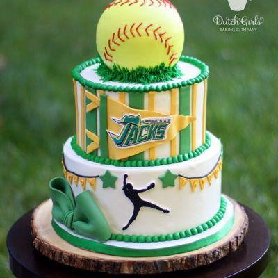 Groovy Softball Signing Party Softball Birthday Cakes 15Th Birthday Personalised Birthday Cards Paralily Jamesorg