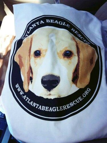 Love Seeing The Logo I Helped Create For Atlanta Beagle Rescue