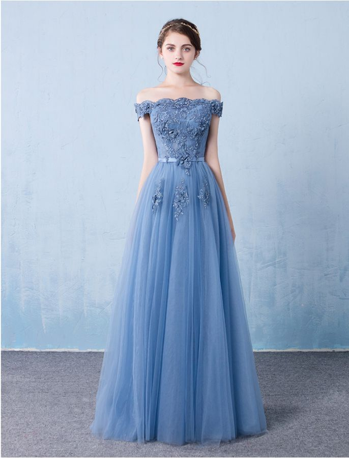 0393b7341ce 50s Vintage Style Romantically Yours Off Shoulder Prom Evening Lace Dress