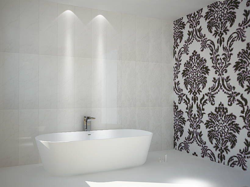 Superb Mosaico Bagno Bianco E Nero