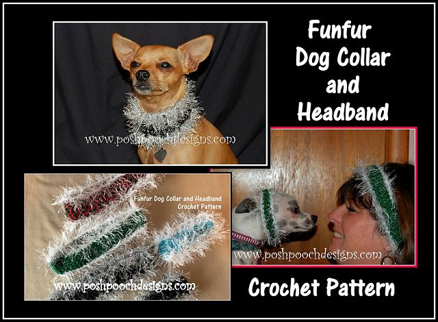 Ravelry: Fufur Dog Collar and Headband pattern by Sara Sach ...