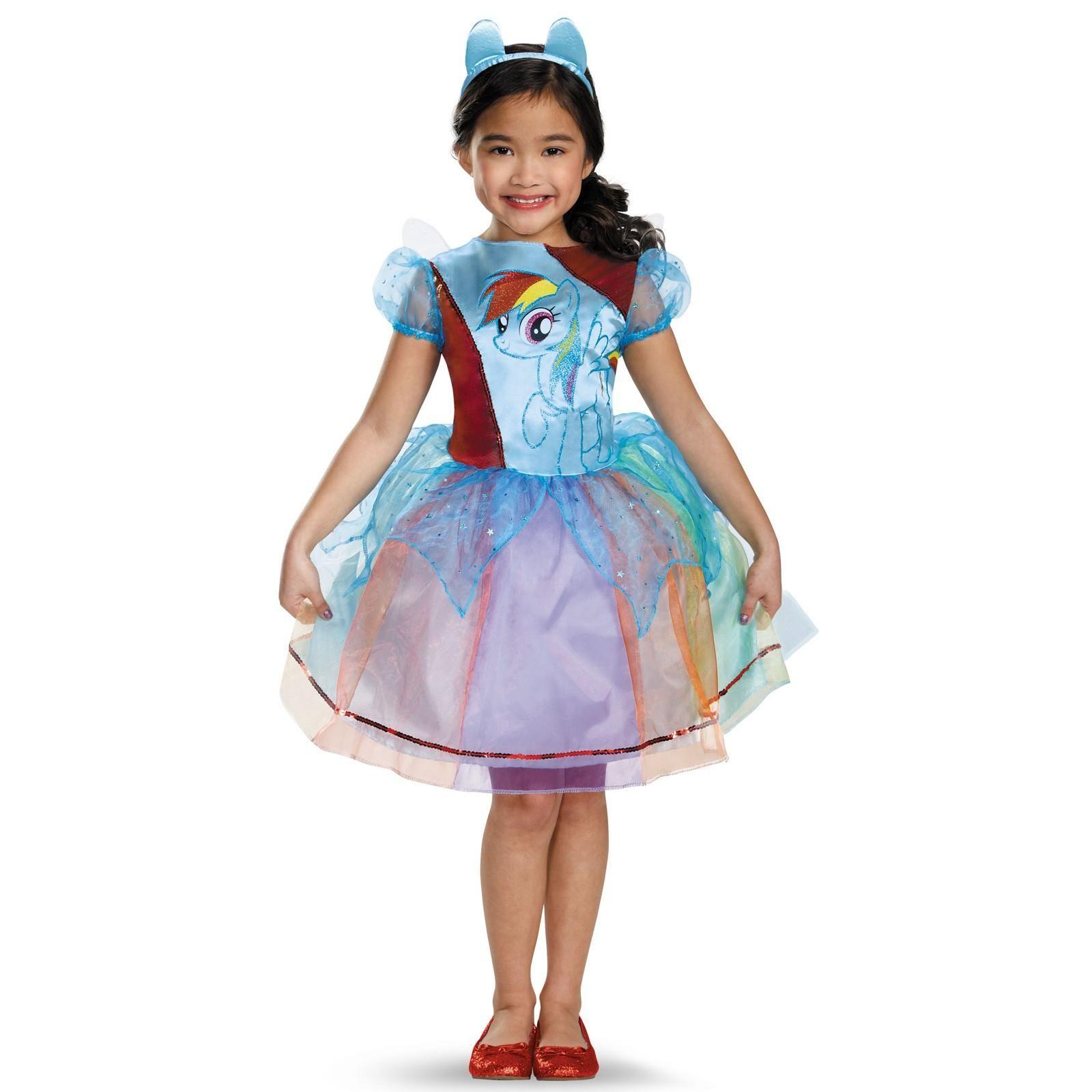 My Little Pony Kids Rainbow Dash Deluxe Costume