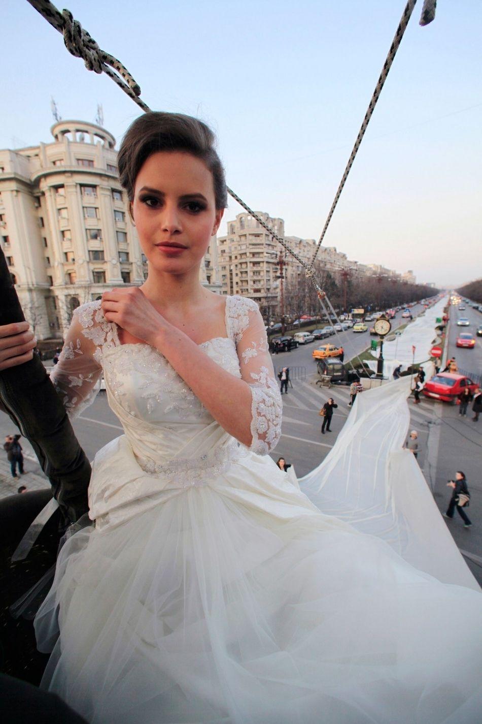 The Longest Wedding Gown