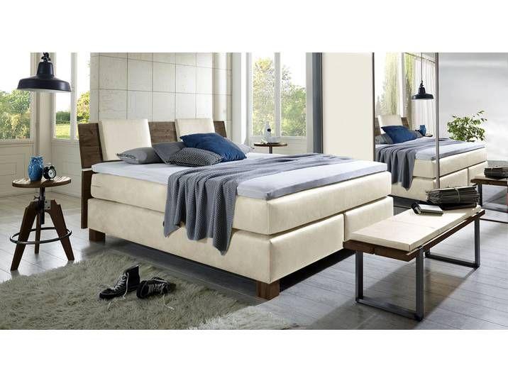 Photo of Luxury bed Avila – 160×200 cm – white – hardness H3 – box spring bed