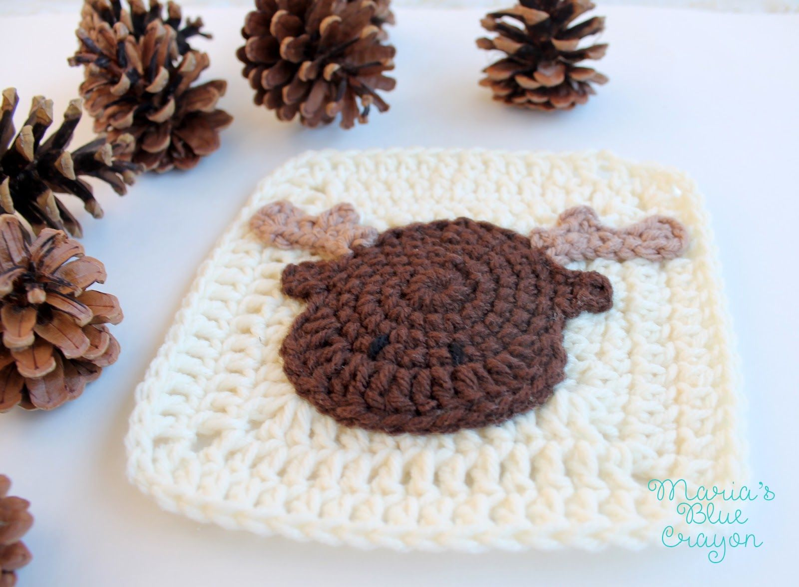 Moose Granny Square - Woodland Afghan Series - Free Crochet Pattern ...