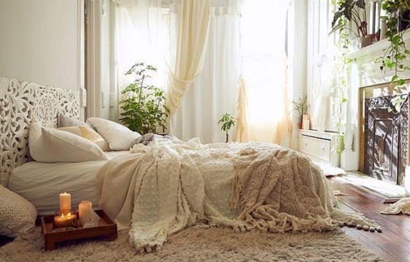 Zen Bedroom Bedroomdecor Boho Bohemian Interiors