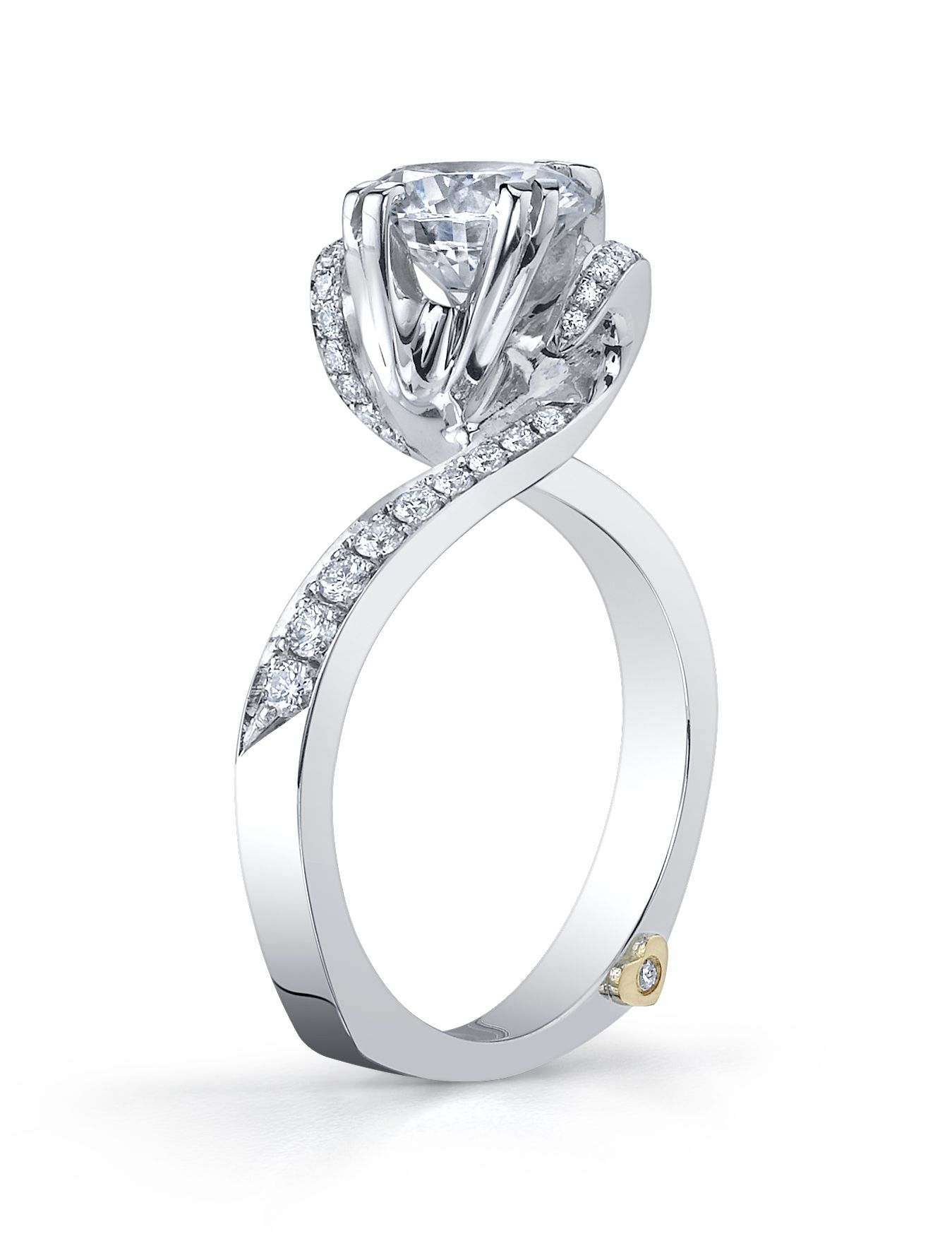 popular diamond rings designs in europe modern style platinum and diamond engagement ring by mark