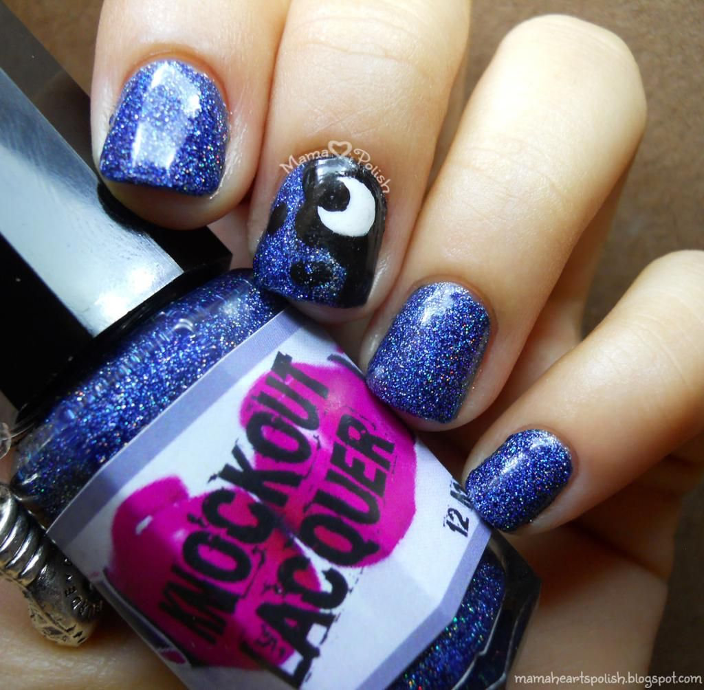 Princess Luna from My Little Pony: Friendship is Magic nail art ...