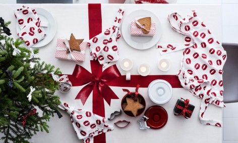 Christmas table H&M Home