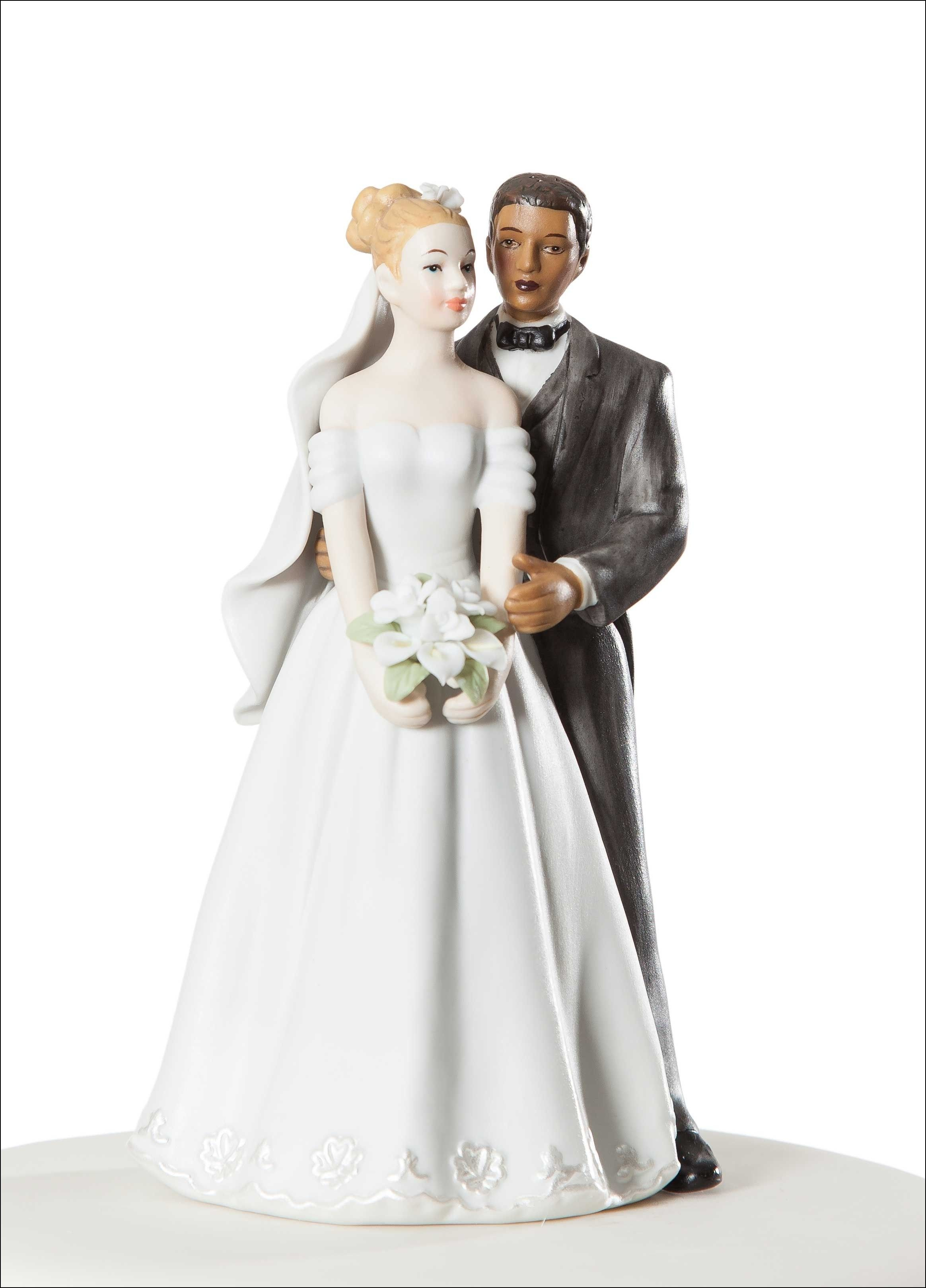 Interracial Wedding Cake toppers Funny | Wedding Ideas | Pinterest ...