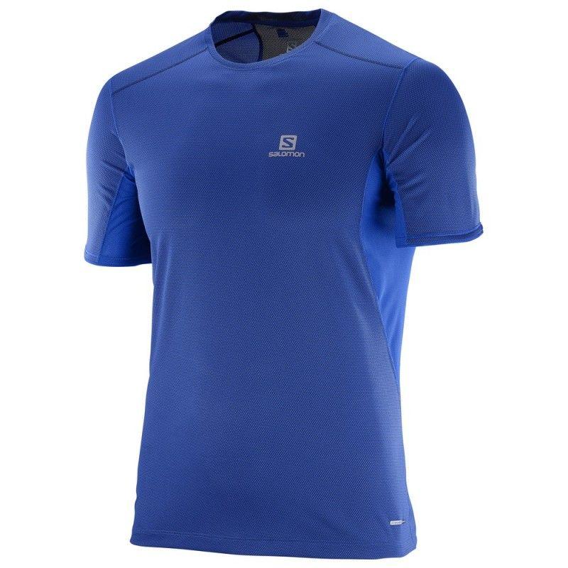 16281eb0500130 Salomon Trail Runner SS Dress Blue  salomon mudandsnow   Trail ...
