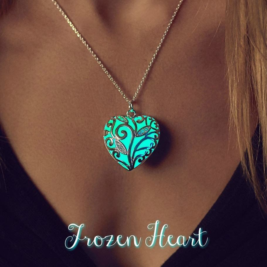 necklace kingdom pin glowing the drop by dark jewelry kairi glow hour in opalite hearts