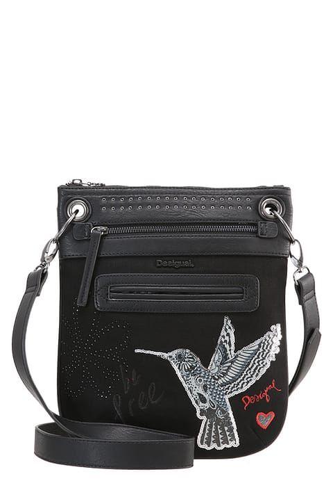 d8f7659d0a Desigual BANDOLERA - Across body bag - black for £35.19 (14/07/17) with  free delivery at Zalando